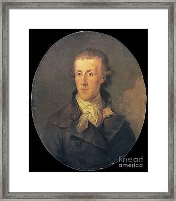 J.p. Brissot De Warville Framed Print by Granger
