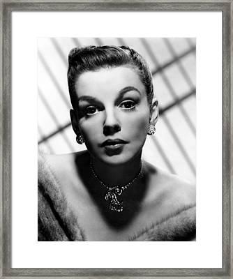 Judy Garland, 1940s Framed Print by Everett
