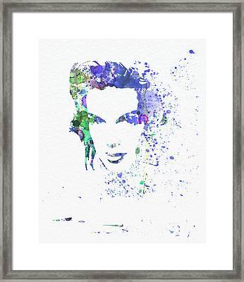 Judy Garland 2 Framed Print by Naxart Studio