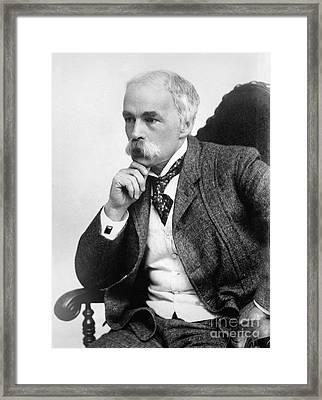 Julian Hawthorne (1846-1934) Framed Print by Granger