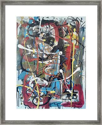 July 9 2012-5 Framed Print by Gustavo Ramirez
