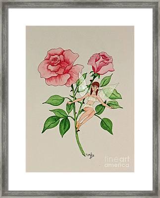 June Framed Print by Terri Mills