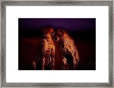 Jungle Love Framed Print by Stefan Kuhn
