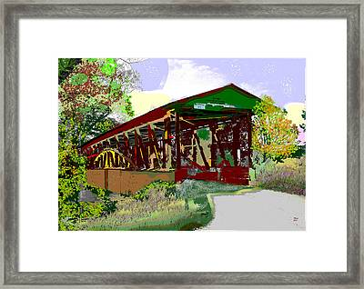 Juniata River Framed Print by Charles Shoup