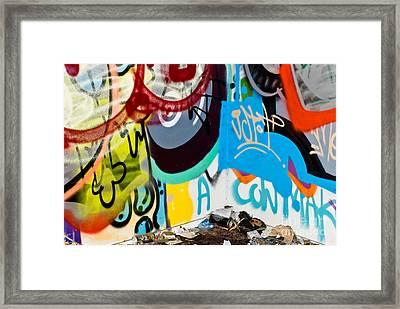 Junk Graffiti Framed Print by Yurix Sardinelly