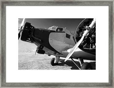 Junkers Ju 52 1939 Framed Print by Maxwell Amaro