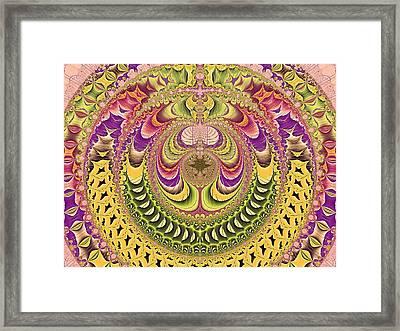 Jupiter's Key Framed Print by Betsy C Knapp