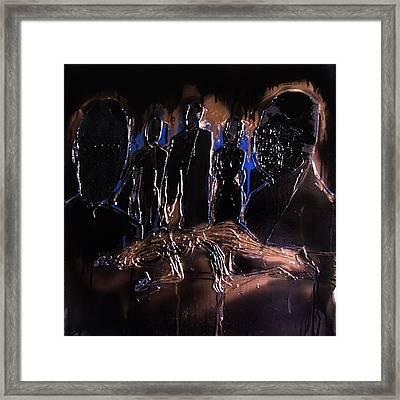 Jury Of My Peers Framed Print by Angela Stout
