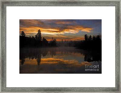 Just Another Magical Sunrise Framed Print by Beve Brown-Clark Photography