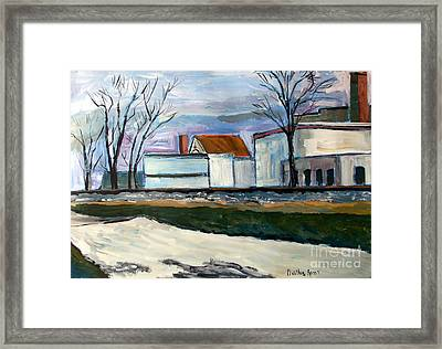 Just Cold Enough Framed Print by Charlie Spear