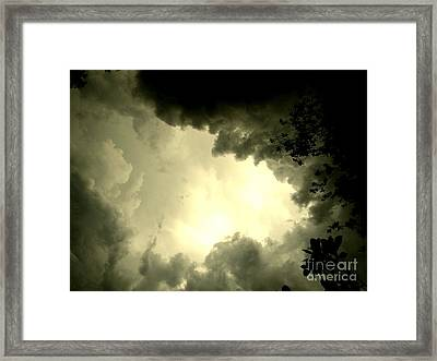 Just Look Up Framed Print by Kimberly Dawn Hendley