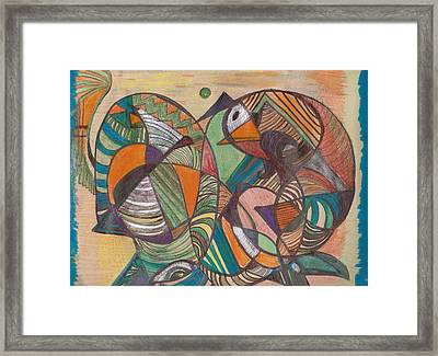 Just My Imagination Running Away With Me Framed Print by Anne-Elizabeth Whiteway