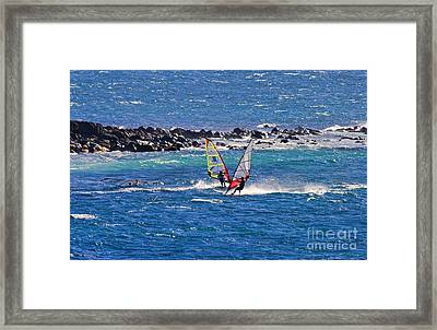 Just Passing By Framed Print by Mike  Dawson