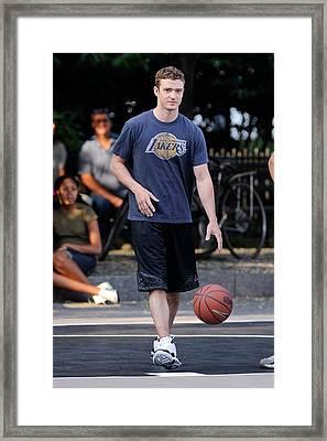 Justin Timberlake, Films A Scene Framed Print by Everett