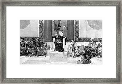 Justinian I (483-565) Framed Print by Granger