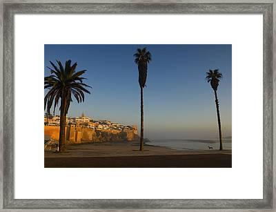 Kasbah Des Oudaias, Rabat Framed Print by Axiom Photographic