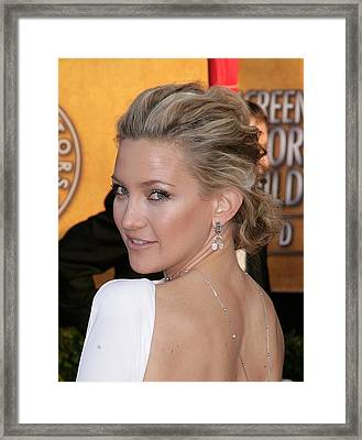 Kate Hudson At Arrivals For 16th Annual Framed Print by Everett