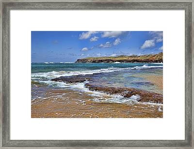 Kauai Beach 2 Framed Print by Kelley King