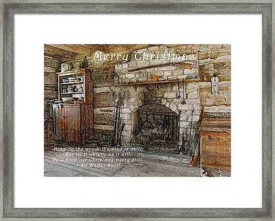 Keep Christmas Merry Framed Print by Michael Peychich