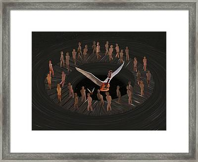 Keep Marchin Framed Print by Eric Kempson