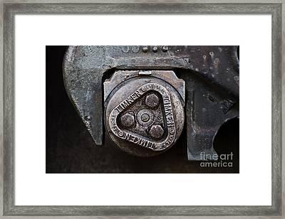 Keeping America Rolling Framed Print by Leslie Leda