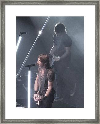 Keith Urban-2 Framed Print by Todd Sherlock