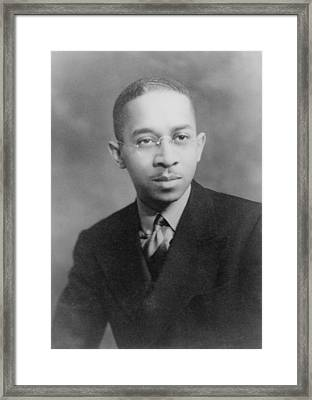 Kenneth B. Clark 1914-2005, African Framed Print by Everett