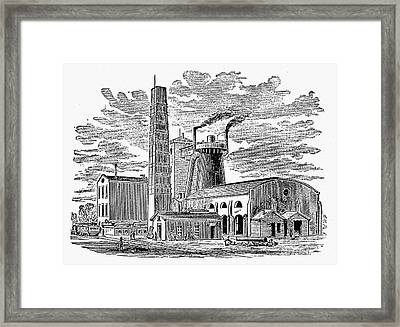 Kentucky: Factory, 1876 Framed Print by Granger