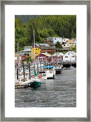 Ketchikan Alaska Framed Print by Sophie Vigneault