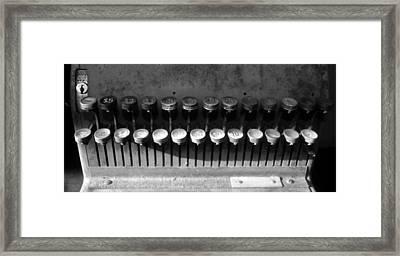 Keys Of Commerce Framed Print by David Lee Thompson