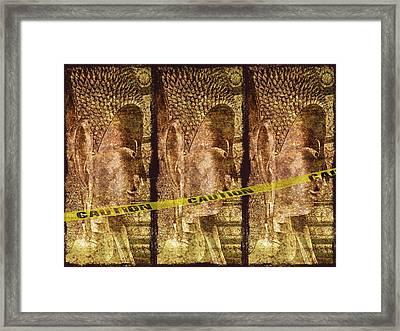 Kill The Buddha Framed Print by Skip Nall