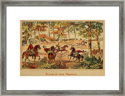 Killing Of John Younger, Member Framed Print by Everett