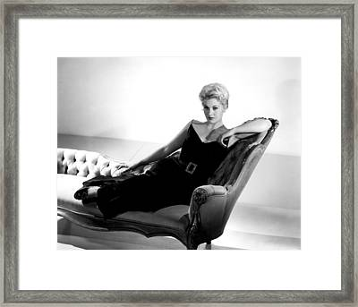 Kim Novak, Columbia Pictures, 1950s Framed Print by Everett