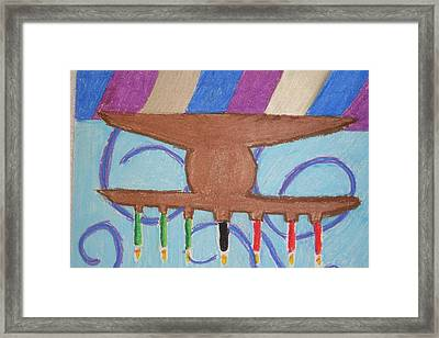 Kinara Framed Print by Genoa Chanel