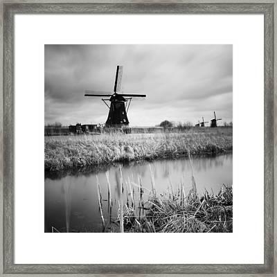Kinderdijk 02 Framed Print by Nina Papiorek