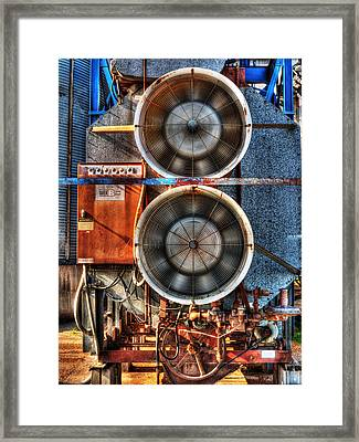 Kinetic Energy Framed Print by William Fields