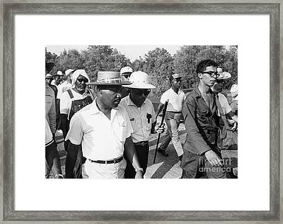 King And Meredith, 1966 Framed Print by Granger