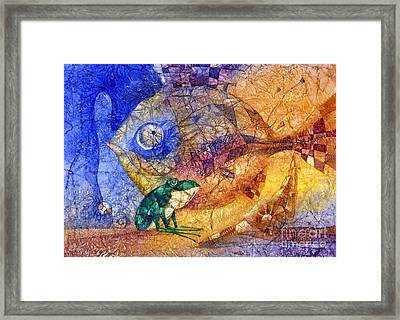 King-fish Framed Print by Svetlana and Sabir Gadghievs