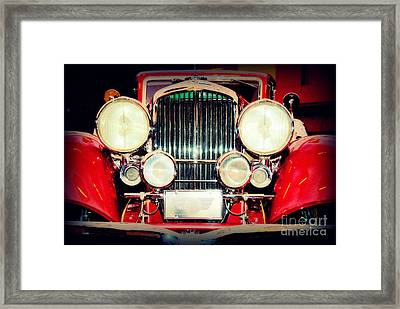 King Of The Road Framed Print by Susanne Van Hulst