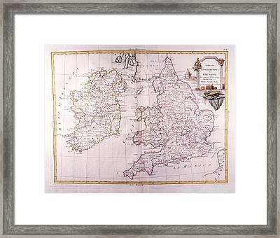 Kingdom Of England And Ireland Framed Print by Fototeca Storica Nazionale