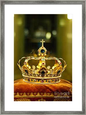 Kingdom Framed Print by Syed Aqueel