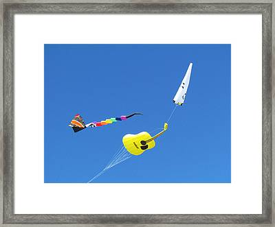 Kite's Framed Print by Joyce Woodhouse