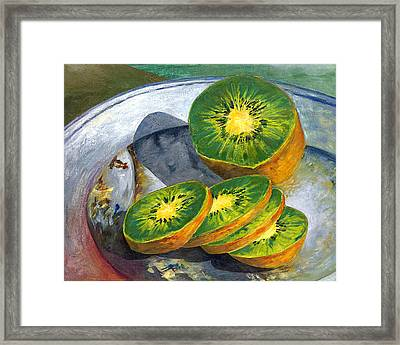 Kiwi Framed Print by Johnny Butler