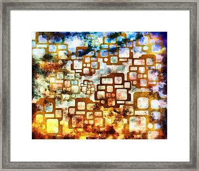 Knowledge Is Not Wisdom 1 Framed Print by Angelina Vick