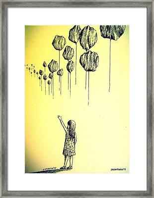 Knowledge Without Wisdom I Framed Print by Paulo Zerbato