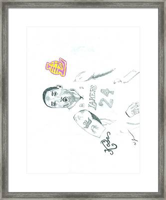 Kobe Framed Print by Eric Jones