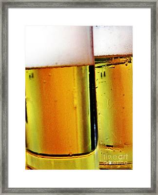 Koelsch - Fine Beer Of Cologne Framed Print by Tanja Cathrin  Liebig