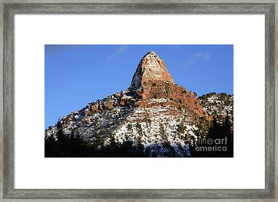Kolob Canyon Utah Framed Print by Bob Christopher