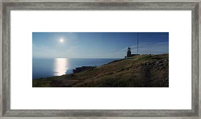 Kullen Light Framed Print by Jan Faul