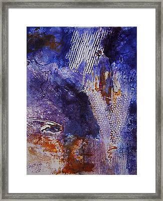 Kundalini On The Move Framed Print by Catherine Foster